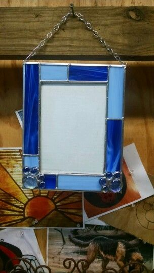 stained glass picture frame stained glass that i have made pinterest best glass picture. Black Bedroom Furniture Sets. Home Design Ideas