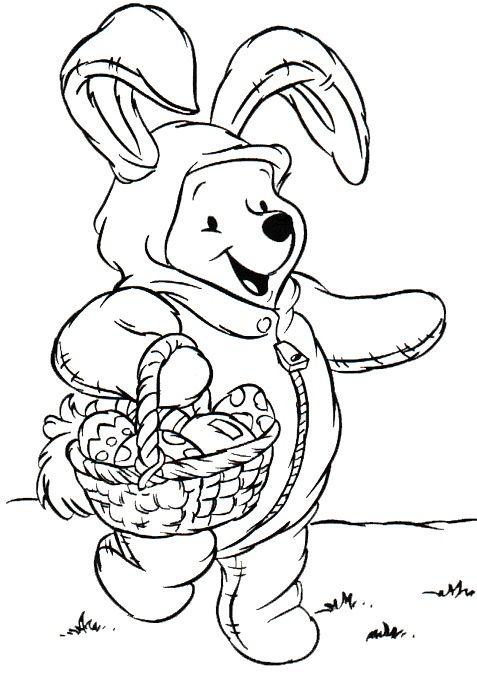 Dibujos para colorear - Disney | Disney Coloring Pages | Easter ...