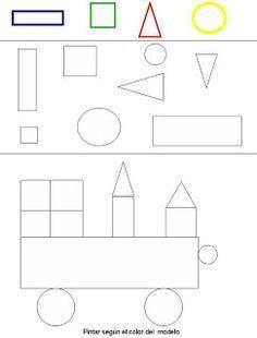 Figuras Geometricas Dibujos Para Colorear Con Imagenes