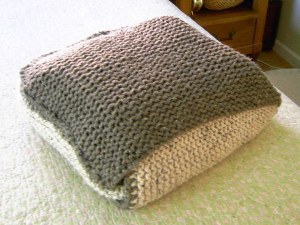 Afghan That Folds Into A Pillow Crochet Blanket Pillows