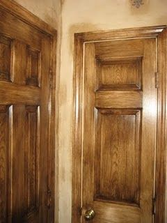 Doors Faux Painted To Look Like Wood The Beauty Of Wood All Shapes And Sizes Pinterest