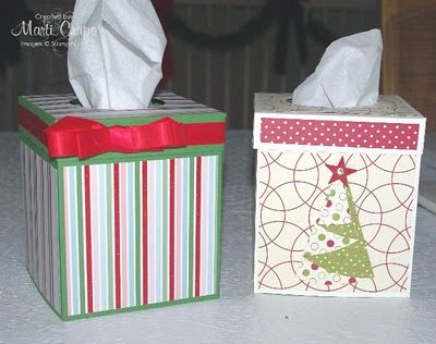 make your own kleenex box covers stampin\u0027up ideas Pinterest
