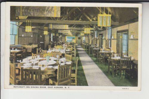 The Roycroft Inn Dining Room East Aurora NY New York | eBay