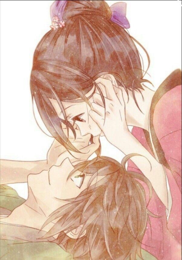 Cute couple anime manga