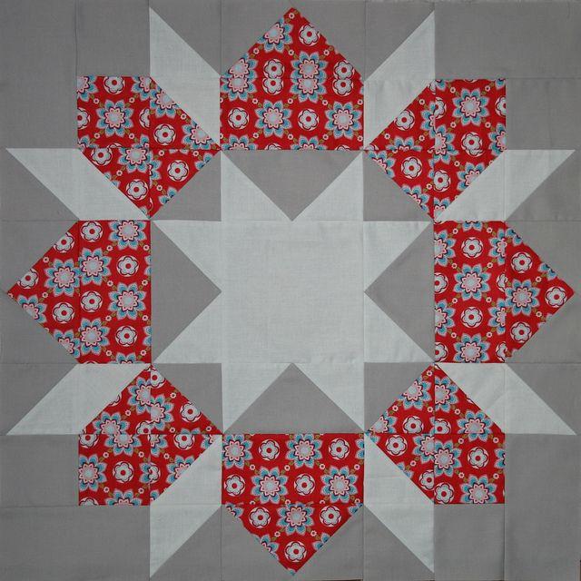 Swoon Block #1 by Punkin Handmades, via Flickr-so pretty
