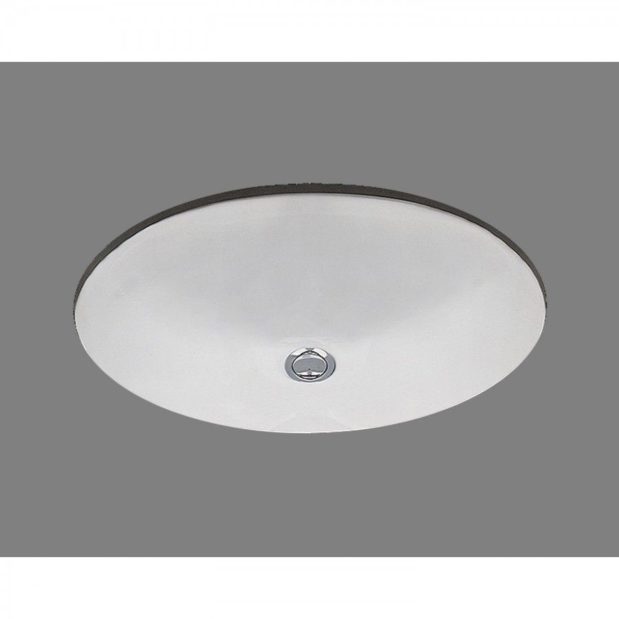 Bates & Bates Doreen Undermount Bathroom Sink with Overflow - P1417