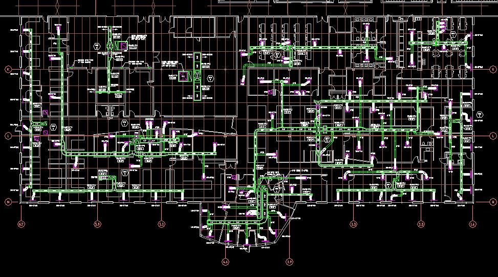 silicon valley gives best hvac design or drawing proficiency of hvac load  estimations, hvac cooling