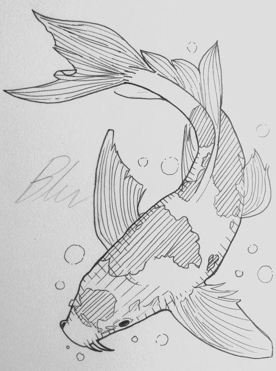 Koi Fisch | Tumblr   - Art, Drawings and Doodles - #art #doodles #Drawings #Fisch #Koi #tattoofische #Tumblr