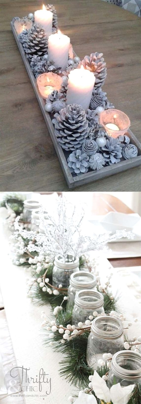 Photo of 27 Gorgeous DIY Thanksgiving & Christmas Table Decorations & Centerpieces