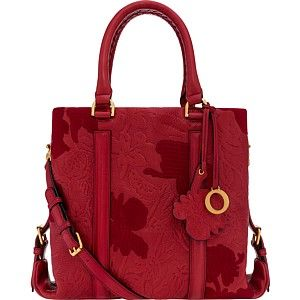 the journey by rose embroidered medium tote | Oroton Mobile