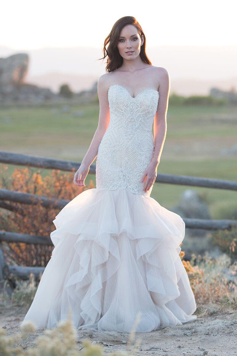 Mermaid dress wedding  Sweetheartneck mermaid wedding dress in   Mermaid Dresses