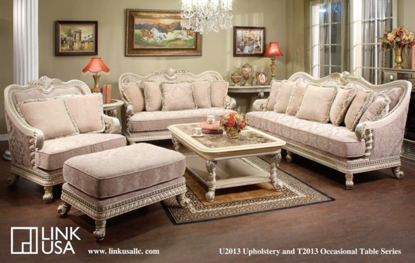 Buy The Link Usa Abby White Sofa And Loveseat Our Abby Sofa Set Is A Unique In Design Ensembl White Sofa Table Unique Living Room Furniture Living Room Sets