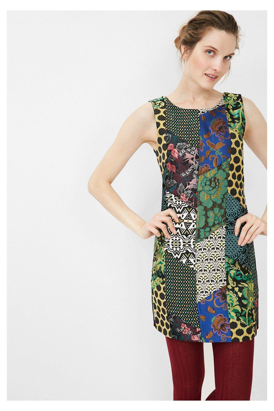 Desigual Calista - 67V28D5 | Desigual dress AW16 | Pinterest
