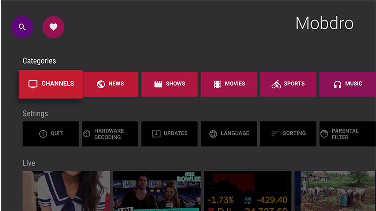 Mobdro APK 2.1.68 Download Free video Streams app 2020