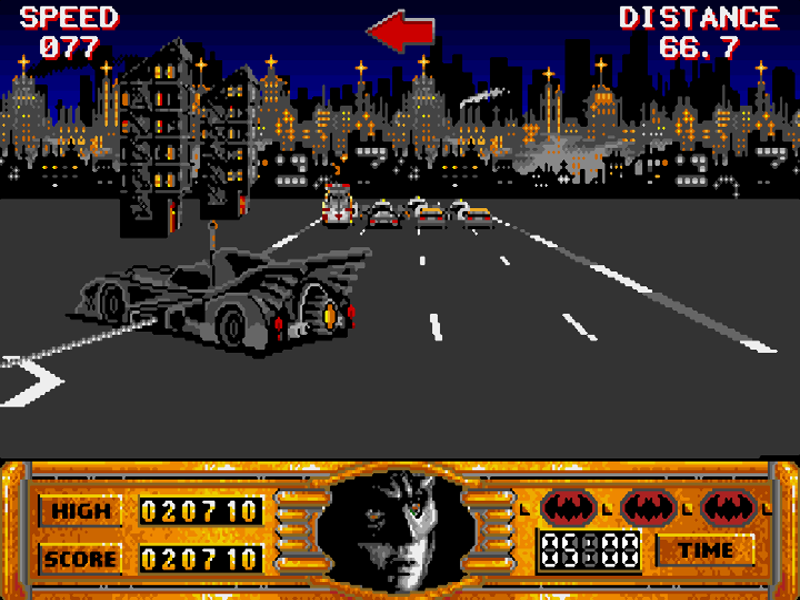 Batman The Movie Amiga) Retro gaming, Batman