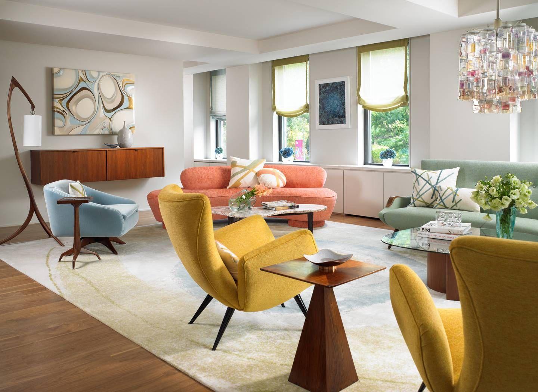 Anni 70 Arredamento central park west family home   amy lau designamy lau design