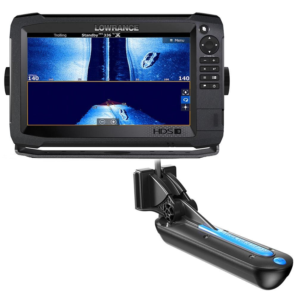 Lowrance HDS9 Carbon MFD with StructureScan 3D Module and