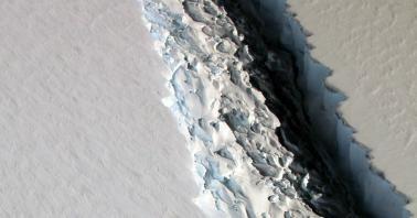 el gigantesco iceberg larsen c se desprendio de la antartica y este es el posible impacto