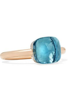 Pomellato | Nudo Maxi 18-karat rose gold quartz ring | NET-A-PORTER.COM