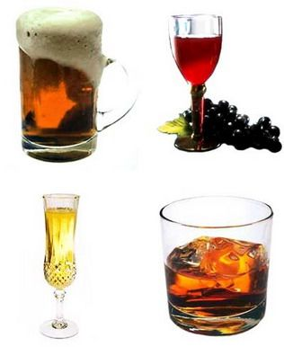 wine or beer for yeast free diet