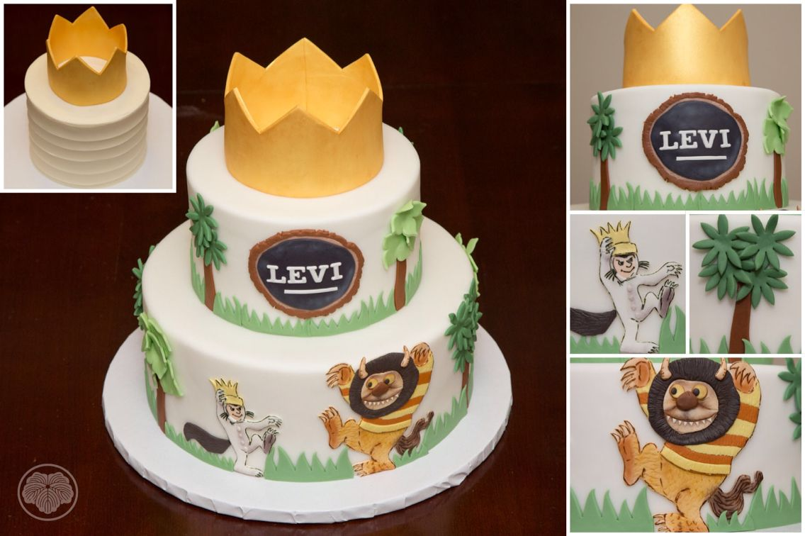 Where The Wild Things Are Cake Love This Story With Images