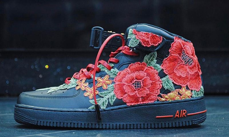 "Fashion · The Custom Nike Air Force 1 "" ..."