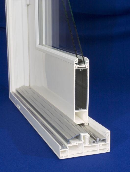 Desert King Windowsu0027 Riviera French patio door replacement combines the style of a French Door into a sliding patio door. & Riviera French Sliding Patio Door - Replacement Patio Door ... pezcame.com