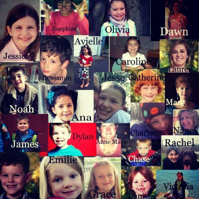 RIP to all if the victims in the Connecticut who lost their lives just on a normal day at school. My heart continues to break more over this. Tears can't bring all of them back, nothing will. But keeping them in your prayers and remembered will get through to them in heaven. 27 beautiful angels in heaven.