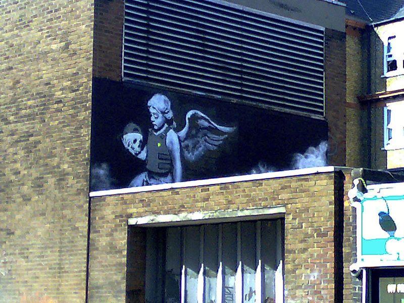 Ozone's Angel - Banksy - Wikipedia