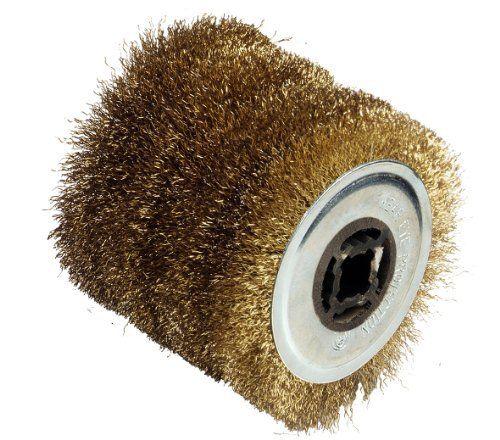Fartools 110874 Brosse Fil Metal Pour Renovateur Rex120 Diametre 120 Mm Noir Acier Laiton Et Outillage