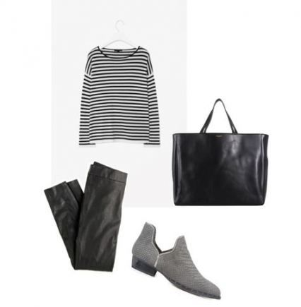 Grey Ankle Boats Outfit Fall Minimal Classic 29 Super ...