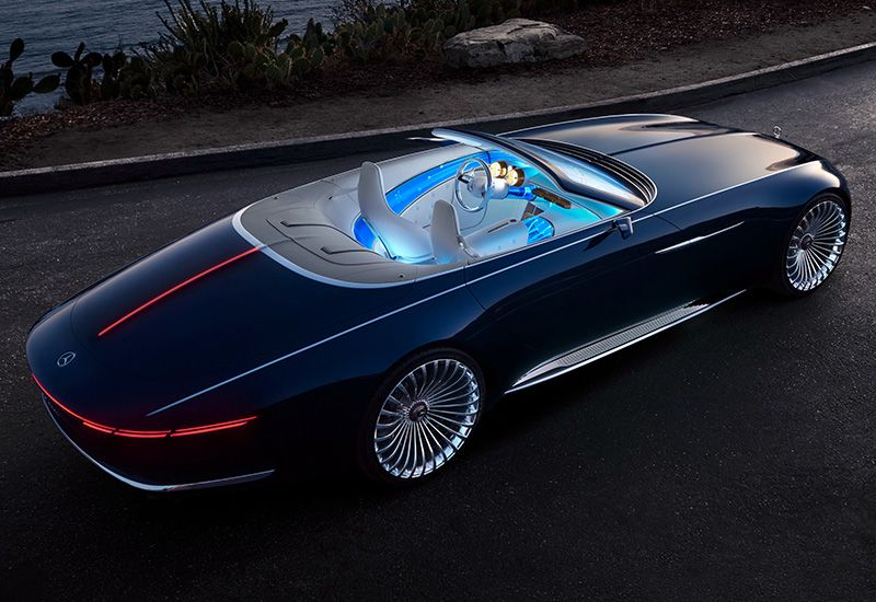 2017 Mercedes Maybach 6 Cabriolet Vision Concept Specifications