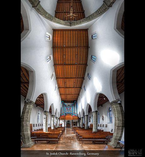 Innenarchitektur Ravensburg jodok church ravensburg germany hdr vertorama