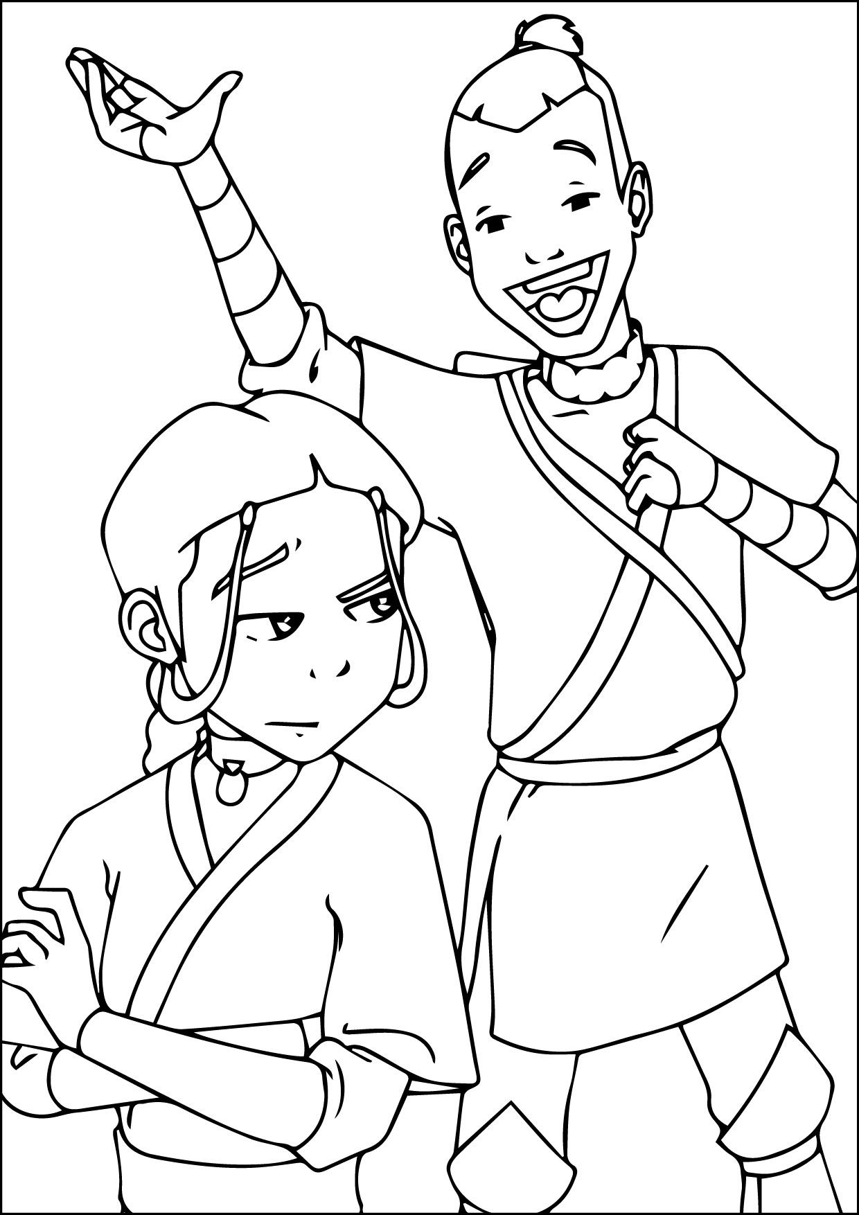 nice avatar coloring pages 07-09-2015_015507 | Animation Coloring ...