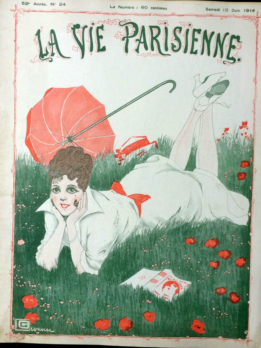 Georges Léonnec (1881 – 1940). La Vie Parisienne, 13 Juin 1914. [Pinned 12-vi-2016]