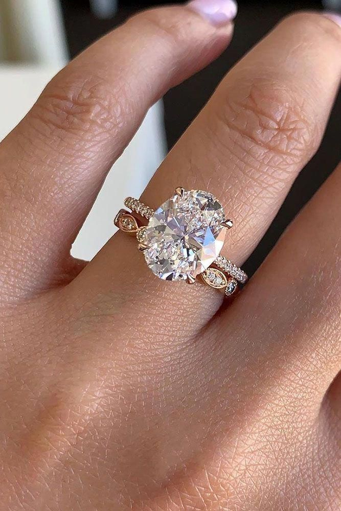 27 Oval Engagement Rings That Every Girl Dreams Oval