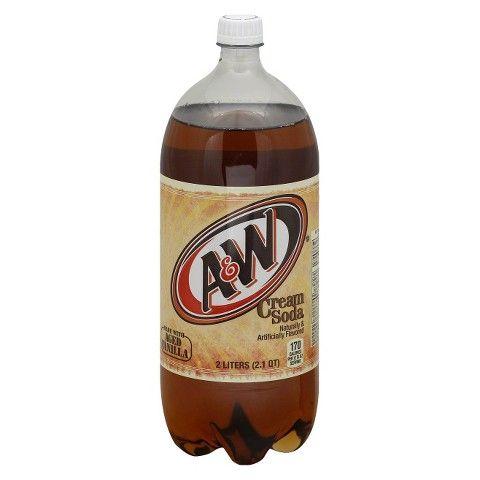 A W Vanilla Cream Soda 2 L Cream Soda A W Cream Soda Soda