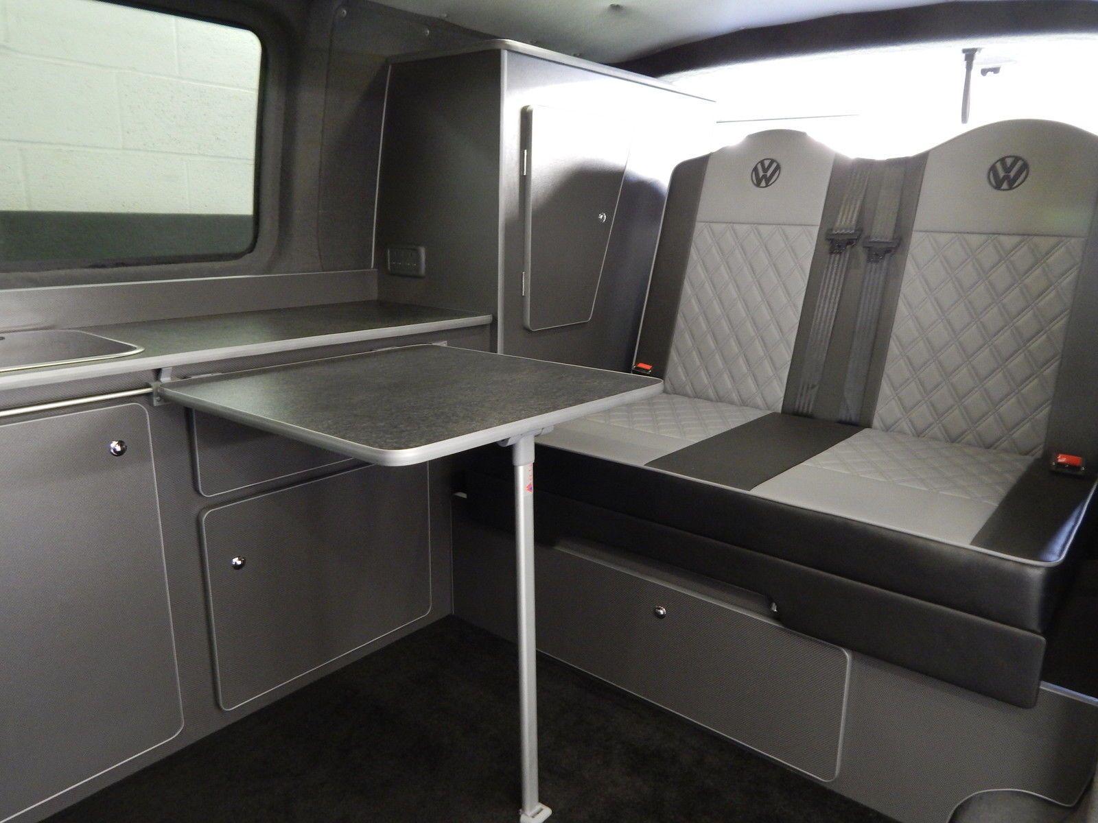 vw transporter 3 4 rock and roll bed seat self raising. Black Bedroom Furniture Sets. Home Design Ideas