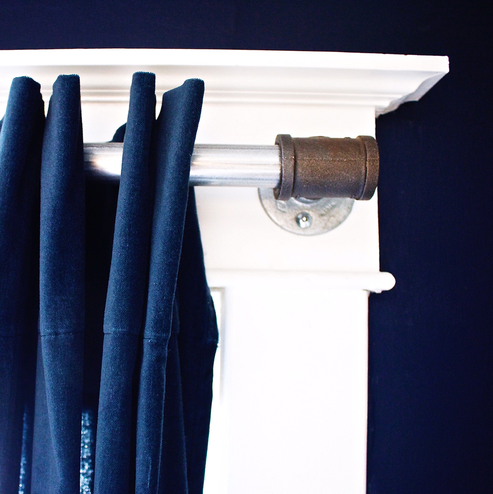 How to make a curtain rod | DIY - How To's | Pinterest ...