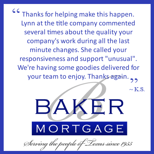 Thanks For Helping Make This Happen Lynn At The Title Company Commented Several Times About The Quality Your Company S Work Du Supportive Kind Words Thankful