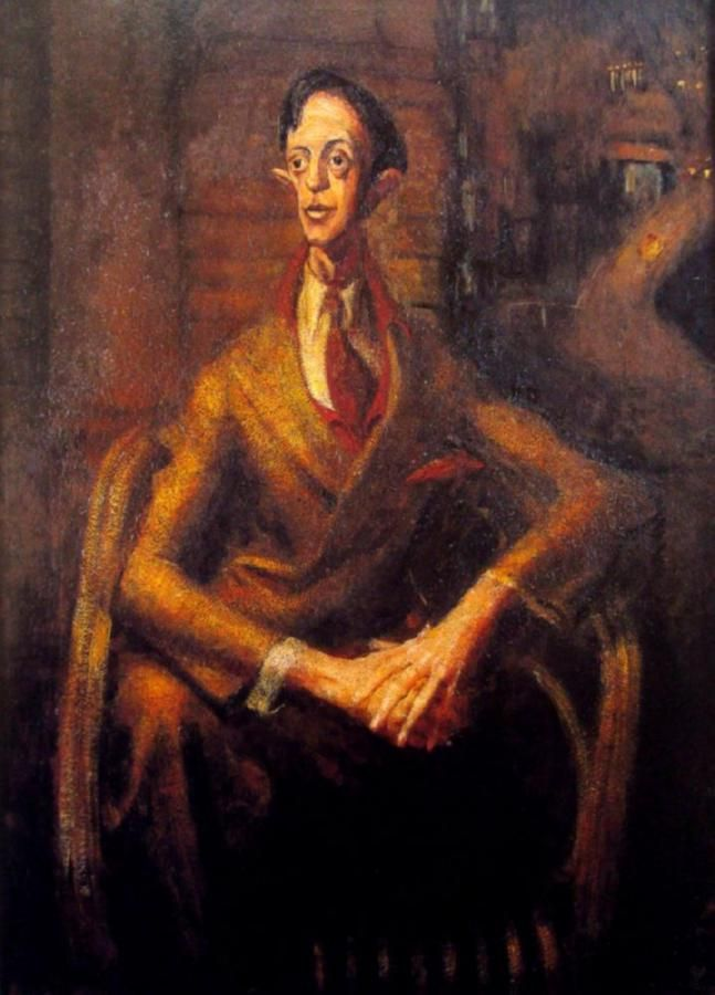 "William DOBELL ""Portrait of an Artist"" (Joshua Smith) 1943"