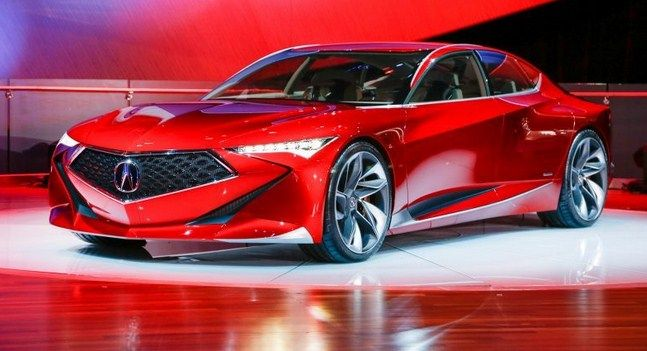 2018 acura cars. interesting cars the acura precision concept concept is eyecatching and would serve as a  perfect fourdoor complement to acurau0027s current halo car the nsx inside 2018 acura cars a