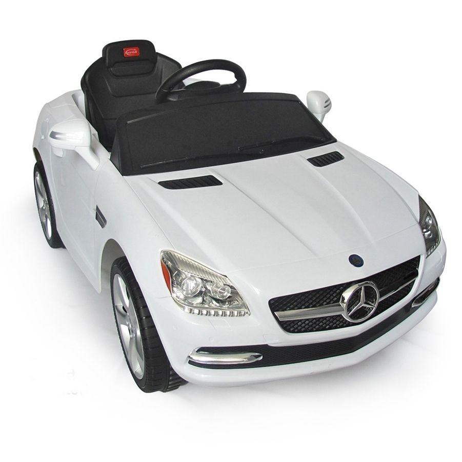 Toys car kids  Frugah  MercedesBenz SLK Kids v Electric Ride On Toy Car w