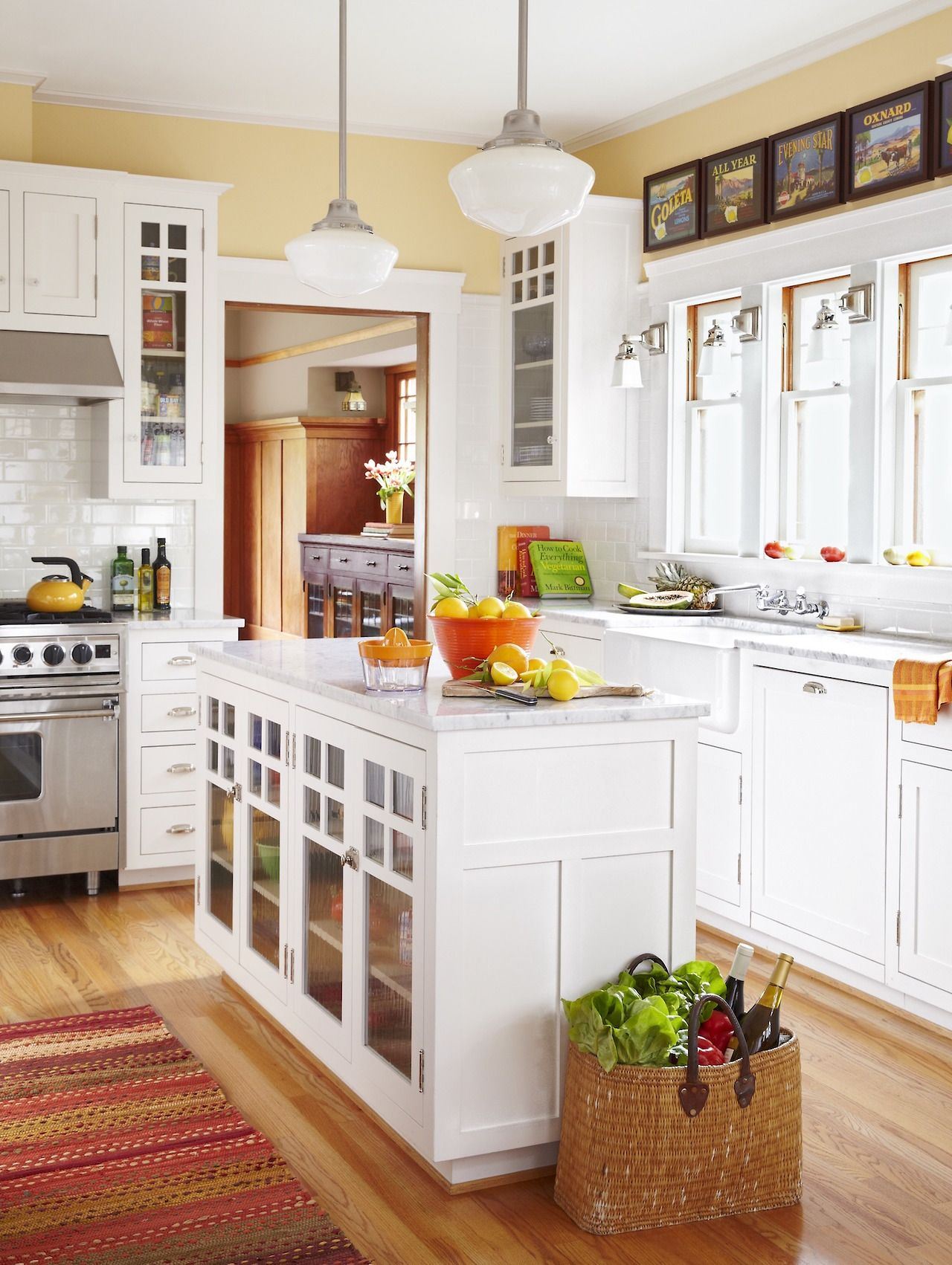 This Old House Recrafting A 1915 Craftsman With The Help Of Its Craftsman Kitchen Kitchen Style Bungalow Kitchen
