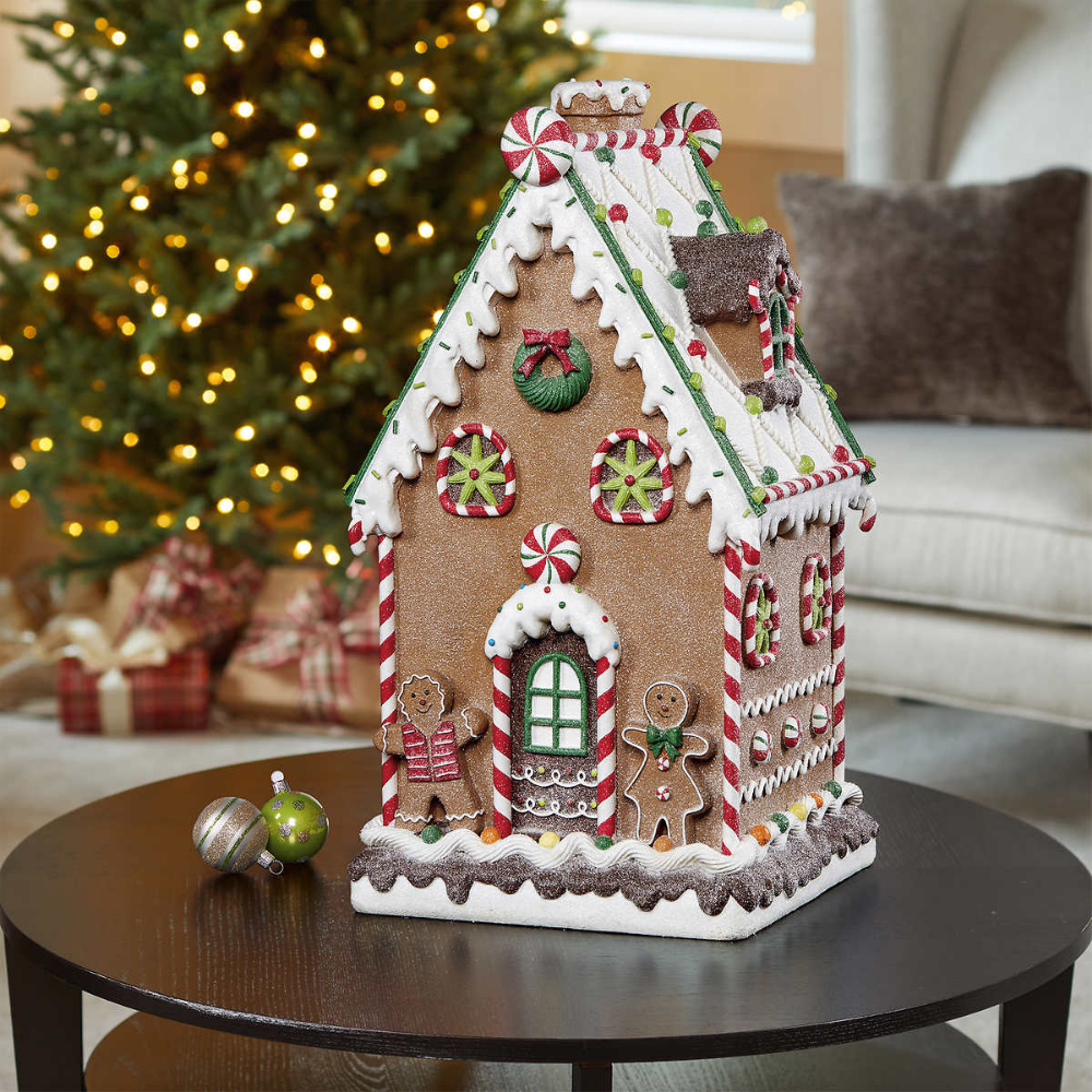 "20"" Decorative Gingerbread House Christmas gingerbread"