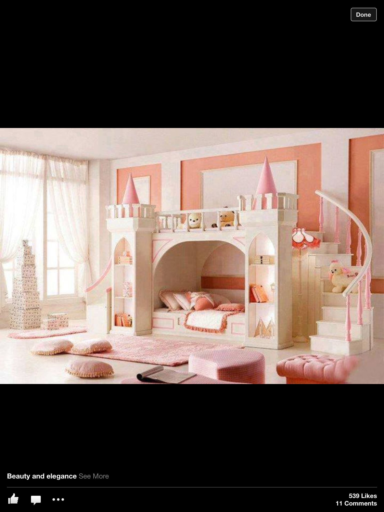 It would be so cool to wake up in a castle! Aka... That awesome room ...