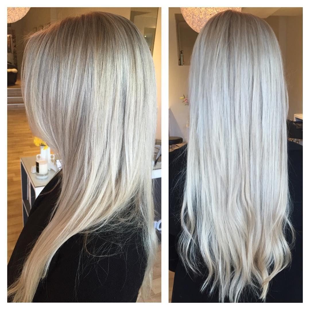 The coolest clean blonde  #olaplex #nofilter #styledbysnow @snowbysamanthasnow