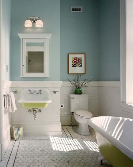 On Budget Modern Small Bathroom Modern Small Bathroom Ideas