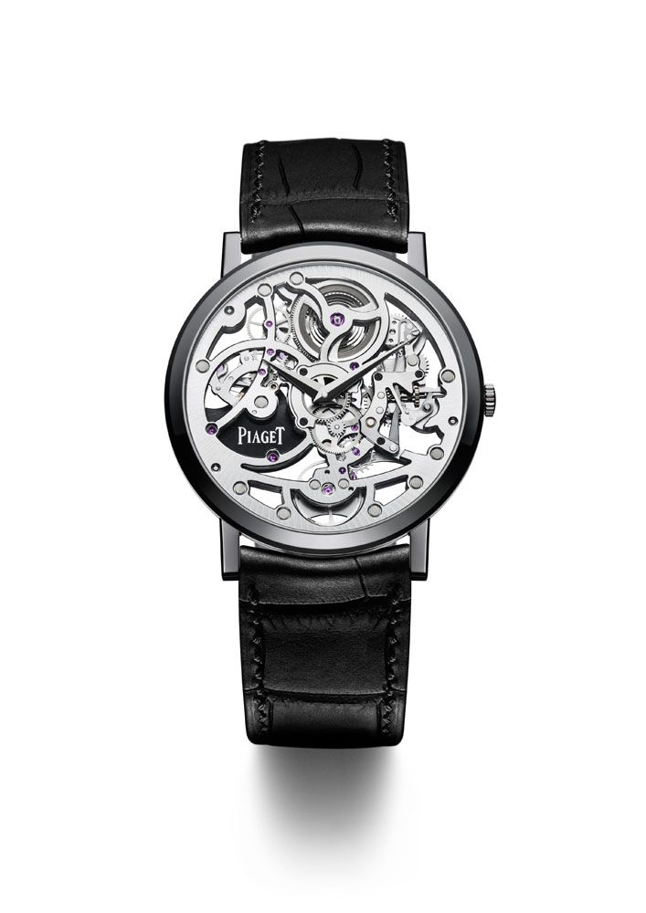 For the 5th Only Watch event, Piaget has interpreted its emblematic Altiplano Skeleton in a version that is as original as it is unique: the Piaget Altiplano 38mm Only Watch 2013 Skeleton 1200S.