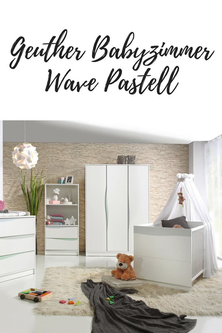 In zarten Farben empfängt das Babyzimmer Wave Pastell kleine Träumer ...